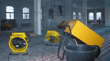 Bautrocknung - Neubautrocknung